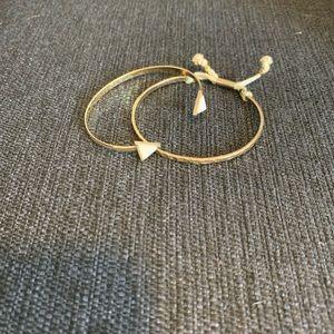 Forever 21 adjustable bracelet combo